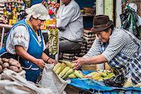 Corn for Sale in Food Market, Otavalo, Imbabura Province, Ecuador Stock Photo - Premium Rights-Managednull, Code: 700-07279327
