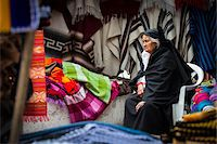 Woman in Clothing Market, Otavalo, Imbabura Province, Ecuador Stock Photo - Premium Rights-Managednull, Code: 700-07279330