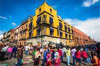 Street Market, Mexico City, Mexico Stock Photo - Premium Rights-Managednull, Code: 700-07279462