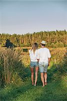Romantic young couple strolling, Gavle, Sweden Stock Photo - Premium Royalty-Freenull, Code: 649-07280955