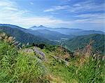 Mt. Bandai And Nishiazuma Sky Valley, Fukushima, Japan Stock Photo - Premium Rights-Managed, Artist: Aflo Relax, Code: 859-07283242