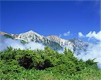 Hakuba Three Mountains, Nagano, Japan Stock Photo - Premium Rights-Managednull, Code: 859-07283434
