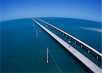 Seven mile Bridge, America Stock Photo - Premium Rights-Managednull, Code: 859-07283793