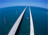 Seven mile Bridge, America Stock Photo - Premium Rights-Managednull, Code: 859-07283796