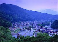 scenic and spring (season) - Shirakawa, Gifu, Japan Stock Photo - Premium Rights-Managednull, Code: 859-07284343