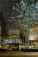 restaurant new york manhattan - Rockefeller Center at night, Midtown, Manhattan, New York City, New York, USA Stock Photo - Premium Rights-Managednull, Code: 700-07310312