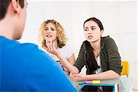 student fighting - Teenagers Working in Office, Mannheim, Baden-Wurttemberg, Germany Stock Photo - Premium Rights-Managednull, Code: 700-07311340
