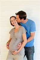 couple with pregnant woman Stock Photo - Premium Royalty-Freenull, Code: 6106-07349411