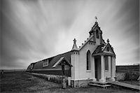 religious cross nobody - Scotland, Orkney Islands, Italian Chapel. Stock Photo - Premium Royalty-Freenull, Code: 6106-07349645