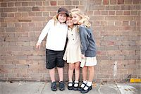 school girl uniforms - Friends at school in uniform Stock Photo - Premium Royalty-Freenull, Code: 6106-07349690