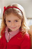 Portrait of Young Girl Stock Photo - Premium Rights-Managednull, Code: 822-07355461