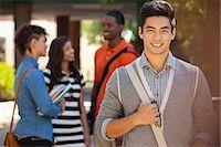 filipino ethnicity - Smiling students Stock Photo - Premium Royalty-Freenull, Code: 635-07364409