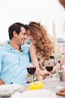 Couples enjoying party on balcony Stock Photo - Premium Royalty-Freenull, Code: 635-07365360
