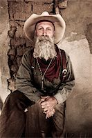 Cowboy Lifestyle Stock Photo - Premium Royalty-Freenull, Code: 618-07390218
