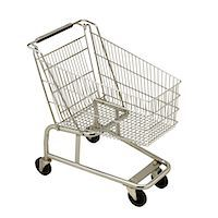 empty shopping cart - Shopping Cart Stock Photo - Premium Royalty-Freenull, Code: 618-07402149