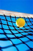 Tennis balls on Court Stock Photo - Royalty-Freenull, Code: 400-07424727