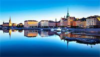 Old Town of Stockholm Stock Photo - Royalty-Freenull, Code: 400-07425255
