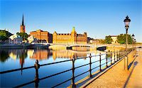 Stockholm Cityscape Stock Photo - Royalty-Freenull, Code: 400-07425256