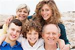 Family enjoying their summer holidays Stock Photo - Royalty-Free, Artist: get4net, Code: 400-07426219