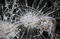 Broken Window Stock Photo - Royalty-Freenull, Code: 400-07428462