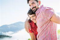 Portrait of young couple, Tyrol, Austria Stock Photo - Premium Royalty-Freenull, Code: 649-07437519