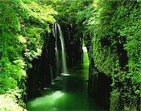 streams scenic nobody - Miyazaki Prefecture, Japan Stock Photo - Premium Rights-Managednull, Code: 859-07442120
