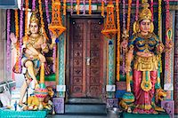 Sri Vadapathira Kaliamman Hindu Temple, Little India, Singapore, Southeast Asia, Asia Stock Photo - Premium Royalty-Freenull, Code: 6119-07443728