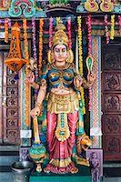 Sri Vadapathira Kaliamman Hindu Temple, Little India, Singapore, Southeast Asia, Asia Stock Photo - Premium Royalty-Freenull, Code: 6119-07443729
