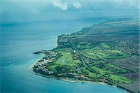 Aerial of Maui, Hawaii, United States of America, Pacific Stock Photo - Premium Royalty-Freenull, Code: 6119-07443885