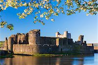 Caerphilly Castle, Gwent, Wales, United Kingdom, Europe Stock Photo - Premium Royalty-Freenull, Code: 6119-07452273