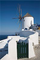 Oia, Santorini (Thira), Cyclades, Greek Islands, Greece, Europe Stock Photo - Premium Royalty-Freenull, Code: 6119-07452639