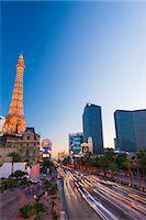 Paris Las Vegas Hotel and Casino, The Strip, Las Vegas, Nevada, United States of America, North America Stock Photo - Premium Royalty-Freenull, Code: 6119-07453056