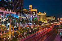 The Strip, Las Vegas, Nevada, United States of America, North America Stock Photo - Premium Royalty-Freenull, Code: 6119-07453057