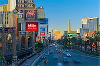 USA, Nevada, Las Vegas, The Strip Stock Photo - Premium Royalty-Freenull, Code: 6106-07455133