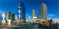 Las Vegas, The Cosmopolitan and CityCenter Stock Photo - Premium Royalty-Freenull, Code: 6106-07455140
