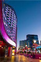 Las Vegas, The Strip, Planet Hollywood facade Stock Photo - Premium Royalty-Freenull, Code: 6106-07455146