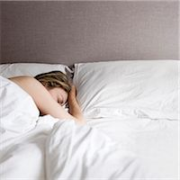 Sleeping Stock Photo - Premium Royalty-Freenull, Code: 6106-07455219