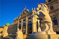 Belvedere, UNESCO World Heritage Site, Vienna, Austria, Europe Stock Photo - Premium Rights-Managed, Artist: Robert Harding Images, Code: 841-07457094