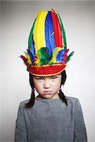 Portrait of girl Stock Photo - Premium Rights-Managednull, Code: 877-07460643