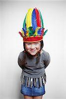 Portrait of girl Stock Photo - Premium Rights-Managednull, Code: 877-07460644