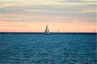 Sunset Sail Stock Photo - Premium Royalty-Freenull, Code: 6106-07493867