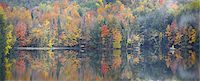 Fall Trees Reflecting into Lake Stock Photo - Premium Royalty-Free, Artist: Aflo Relax, Code: 6106-07493975