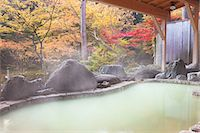 Japanese hot spring Stock Photo - Premium Rights-Managed, Artist: Aflo Relax, Code: 859-07495361