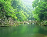 streams scenic nobody - Miyagi Prefecture, Japan Stock Photo - Premium Rights-Managed, Artist: Aflo Relax, Code: 859-07495451