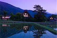 settlement - Shirakawa-go Village, Gifu Stock Photo - Premium Rights-Managed, Artist: Aflo Relax, Code: 859-07495655