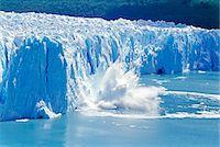 perito moreno glacier - Glacier ice melting and icebergs, Moreno Glacier, Patagonia, Argentina, South America Stock Photo - Premium Rights-Managednull, Code: 862-07495745