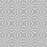 Design seamless diamond lattice pattern. Abstract geometric monochrome background. Speckled texture. Vector art