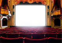 Cinema screen, Stockholm, Sweden Stock Photo - Premium Royalty-Freenull, Code: 6102-07521573