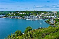 quaint house - Popular tourist destination Kinsale harbour from Scilly, County Cork, Ireland Stock Photo - Premium Rights-Managednull, Code: 841-07523755
