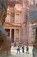 The Treasury Building, Petra, Jordan Stock Photo - Premium Rights-Managednull, Code: 841-07523835
